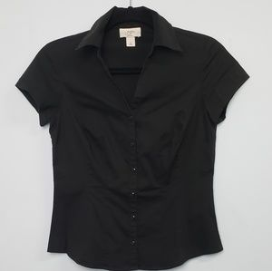 Loft Career Button up Blouse Petitie